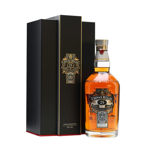 Chivas Regal 25 Year Old Scotch Whisky 700mL