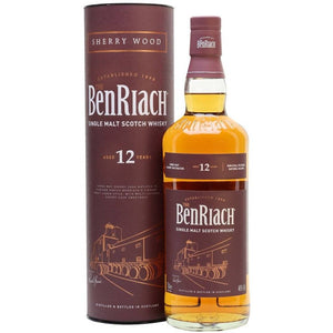 Benriach 12 Year Old Sherry Wood Finish 700mL - Uptown Liquor
