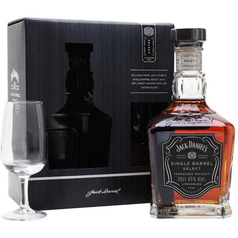 Jack Daniel's Single Barrel Select with Jeff Arnett Nosing Glass Gift Pack 700mL - Uptown Liquor