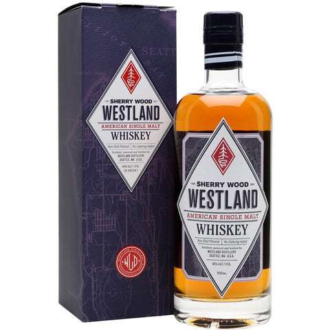 Westland Sherry Wood American Single Malt Whisky 700mL - Uptown Liquor