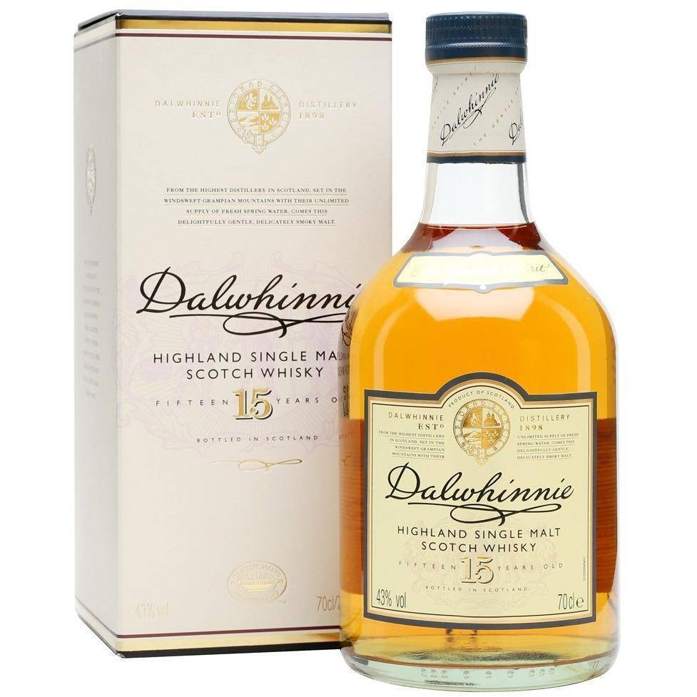 Dalwhinnie 15 Years Scotch Whisky 700mL - Uptown Liquor