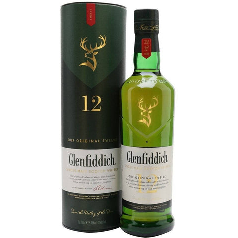 Glenfiddich 12 Year Old Whisky 700mL - Uptown Liquor