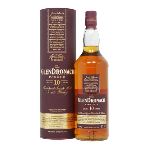 GlenDronach 10 Years Old Forgue Scotch Whisky 1L - Uptown Liquor
