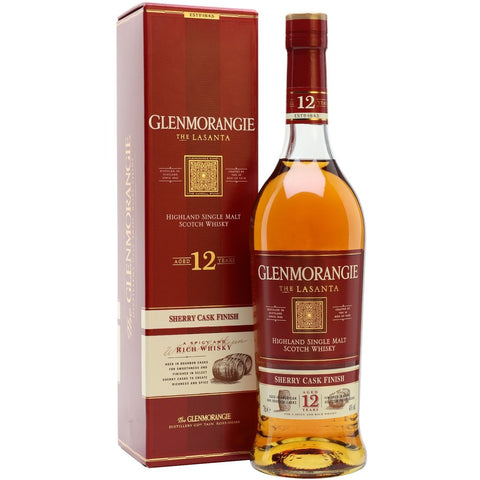 Glenmorangie The Lasanta Scotch Whisky 700mL - Uptown Liquor