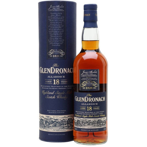 GlenDronach 2020 Allardice 18 Years Scotch Whisky 700mL - Uptown Liquor