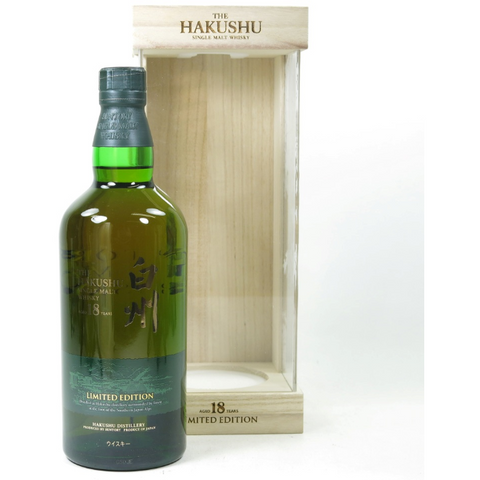 Hakushu 18 Years Limited Edition Japanese Whisky 700mL - Uptown Liquor