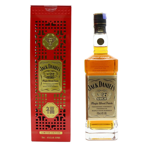 Jack Daniel's No. 27 Gold Year Of The Ox Chinese New Year 700mL - Uptown Liquor