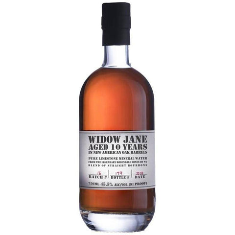 Widow Jane 10 Years Bourbon 750mL - Uptown Liquor