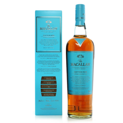 The Macallan Edition 6 Limited Edition Scotch Whisky 700mL