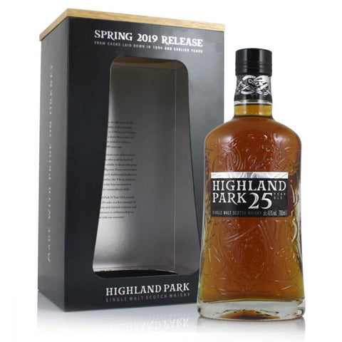 Highland Park 25 Years Scotch Whisky 700mL - Uptown Liquor