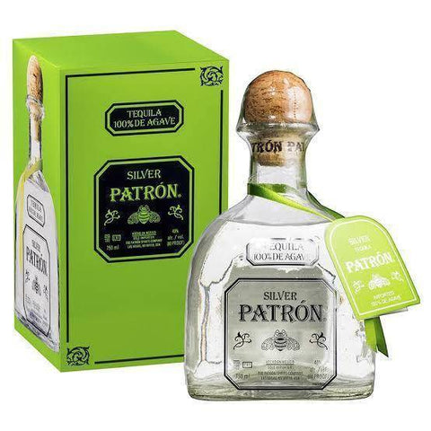Patron Silver Tequila 750mL - Uptown Liquor