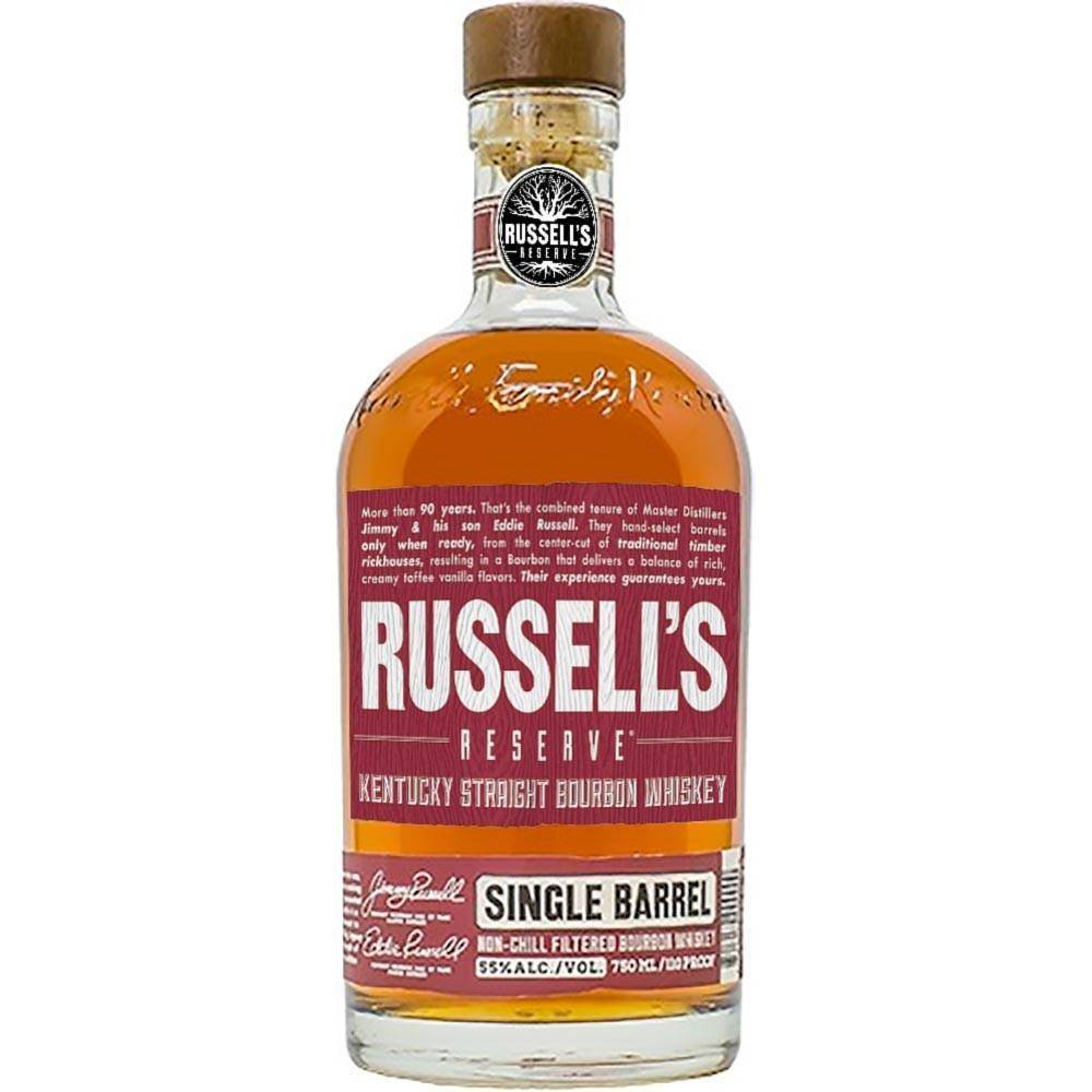 Russell's Reserve Single Barrel Bouron 700mL - Uptown Liquor