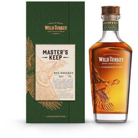 Wild Turkey Masters Keep Cornerstone Rye 750mL - Uptown Liquor