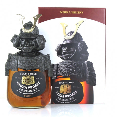 Nikka Gold & Gold Samurai Japanese Whisky 700mL - Uptown Liquor