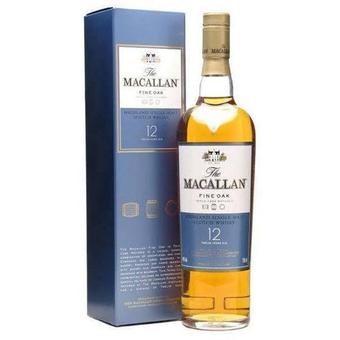 The Macallan 12 Years Fine Oak 700mL - Uptown Liquor