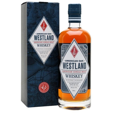 Westland American Oak Single Malt American Whiskey 700mL - Uptown Liquor