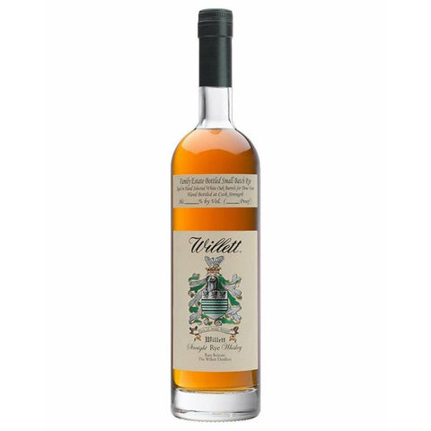 Willet Family Estate Small Batch 4 Year Old Rye Whiskey 750mL - Uptown Liquor