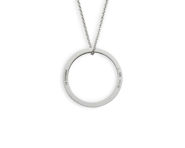ROUND NECKLACE LE 2,1G SILVER 925 SLICK POLISHED