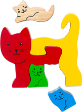 Load image into Gallery viewer, cat wooden puzzles for 18 month old