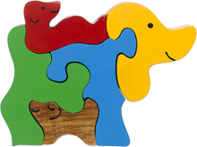 Load image into Gallery viewer, wooden dog puzzle