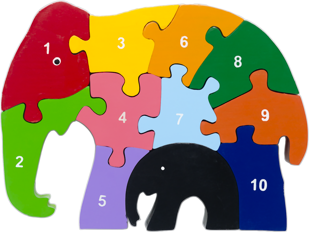 elephant number puzzle