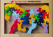 Load image into Gallery viewer, horse puzzle for preschoolers