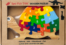 Load image into Gallery viewer, turtle preschool puzzle