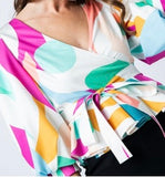 """Lola"" Abstract top"