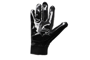 FLG-03 Linemen Pro Football Gloves, OL, DL, Black