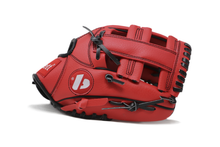 "Load image into Gallery viewer, JL-110, REG baseball glove, outfield, polyurethane, size 11"", RED"
