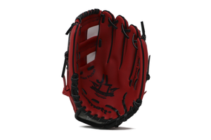 "JL-110, REG baseball glove, outfield, polyurethane, size 11"", RED"