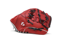 "Load image into Gallery viewer, JL-115, REG, baseball glove, outfield, polyurethane, size 11,5"", RED"