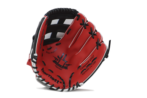 "JL-120, REG, baseball glove, outfield, polyurethane, size 12,5"", RED"