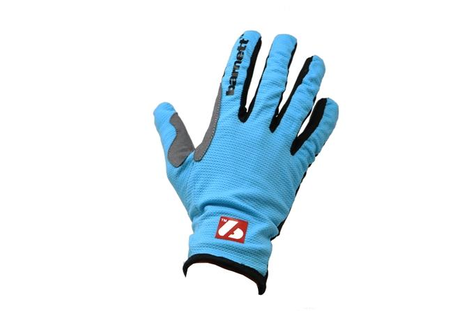 NBG-18  Gloves for Rollerski - cross-country - road bike - running - Blue