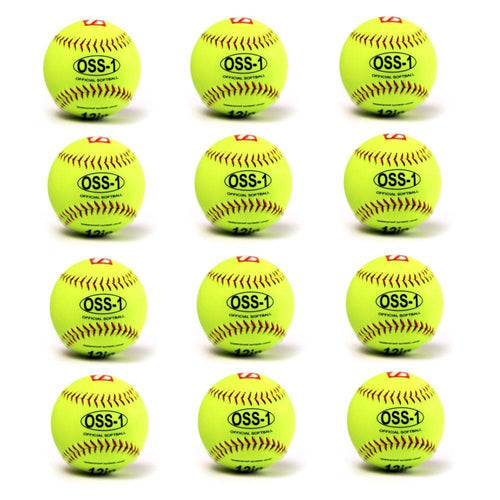 OSS-1 Practice softball ball, size 12