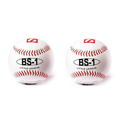 BS-1 Baseball balls, Size 9 '', White, 2 pieces