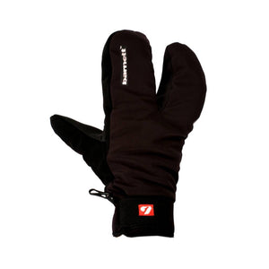 NBG-09 Barnett 3 split fingers, ski mitts in softshell