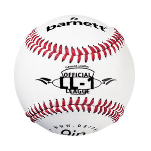 "LL-1 Match and practice baseballs, Size 9"", White, 2 pieces"