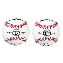 "Load image into Gallery viewer, LL-1 Match and practice baseballs, Size 9"", White, 2 pieces"