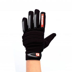 FKG-02 linebacker football gloves, LB, RB, TE, Black
