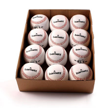 "Load image into Gallery viewer, BS-1 Practice baseballs, Size 9"", White, 1 dozen"