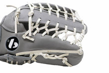 Load image into Gallery viewer, FL-127 high quality leather baseball glove, infield / outfield / pitcher, light grey