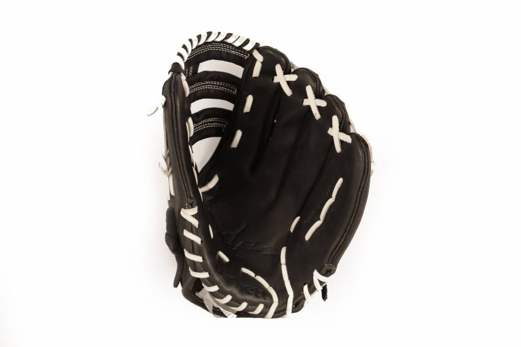 GL-130 Competition baseball glove, 13 genuine leather, outfield, Black