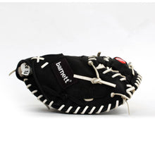 Load image into Gallery viewer, GL-203 Competition catcher baseball glove, genuine leather, adult 34, Black