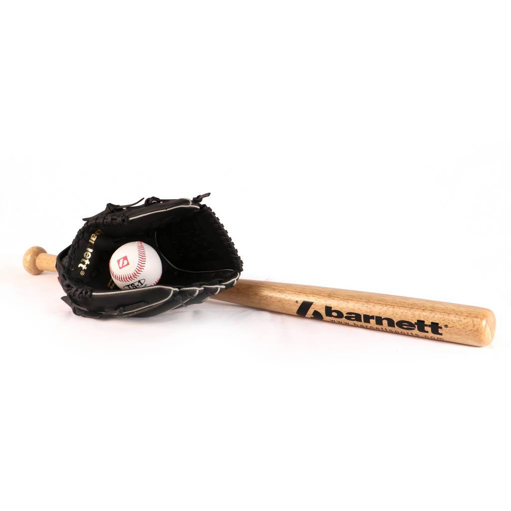 BGBW-03  wooden baseball kit for juniors  (BB-W 25, JL-110, BS-1)