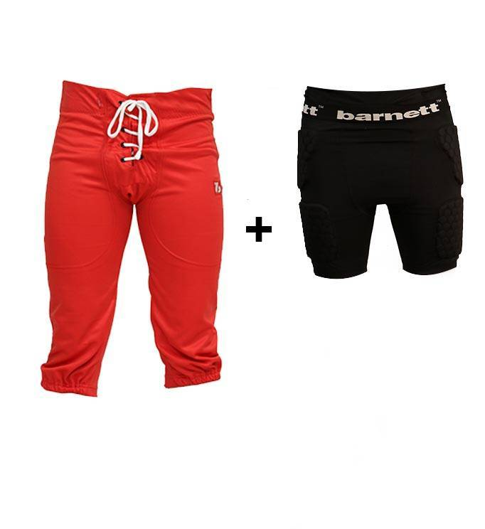 barnett PACK PROTECTIVE PANTS Kit pantalon + compression shorts