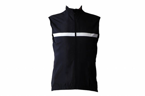 TEXTILE BIKE - BLACK AND WHITE SLEEVED GLOVES WITHOUT SLEEVES