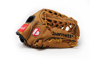SL-115 Baseball gloves in leather infield/outfield size 11.5, Brown