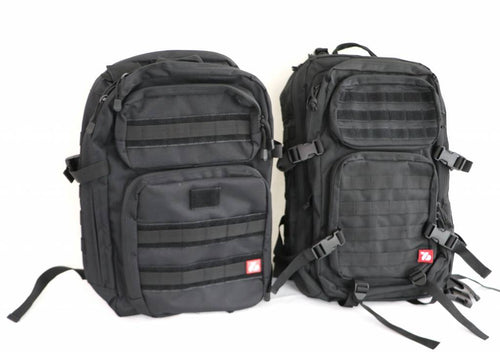 TACTICAL BAG, black military bag