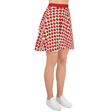 Load image into Gallery viewer, Strawberry Skater Skirt PL-S-105